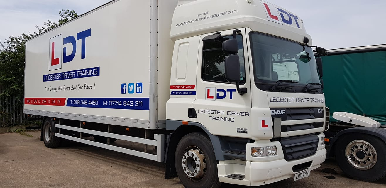 leicester driver training hgv