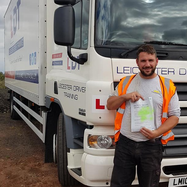 review hgv training leicester pass